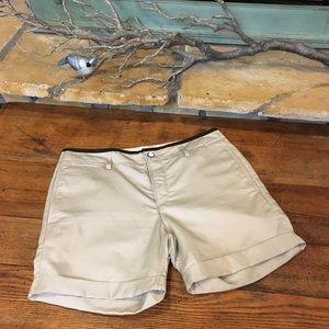 Rag & Bone Ashbury Boyfriend Linen Blend Shorts